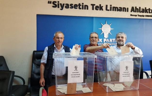 AK Parti delegelerini seçiyor