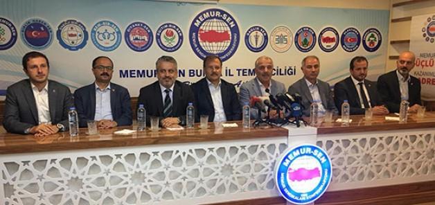 AK Partili vekillerden Memur-Sen'e ziyaret