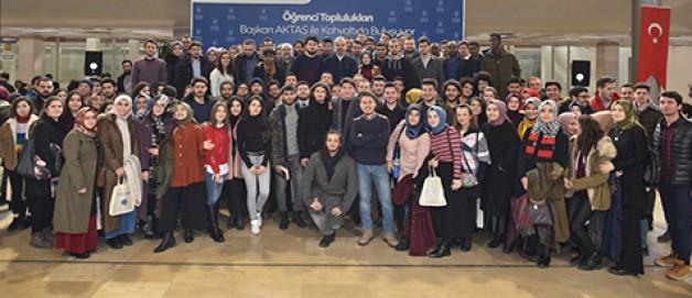 Aktaş'tan üniversitelilere müjde