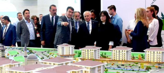 Ankara Emlak Fuarı'nın gözdesi Osmangazi