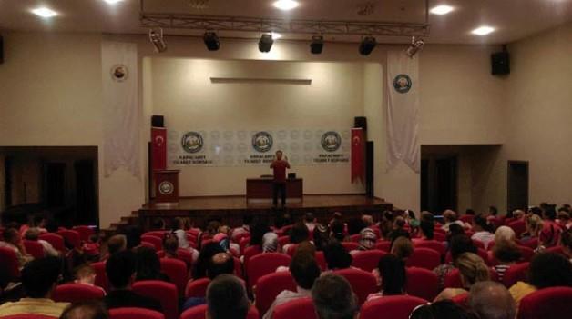 Atatürk'ten 'Eğitimde Sevgi' semineri