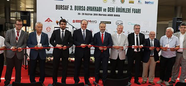 Ayakkabı Fuarı Bursa'da açıldı
