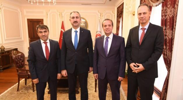 BİK'ten Adalet Bakanı'na ziyaret