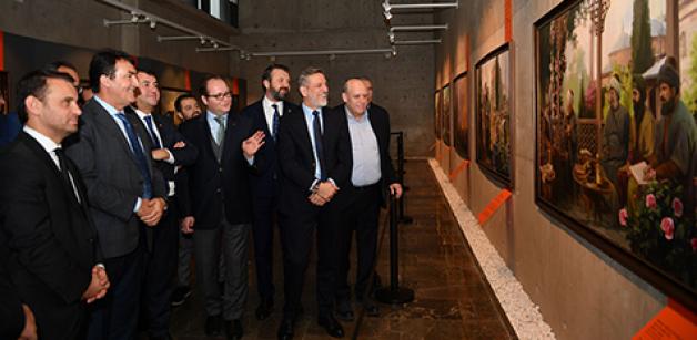 BTSO heyetinden Fetih Müzesi'ne ziyaret