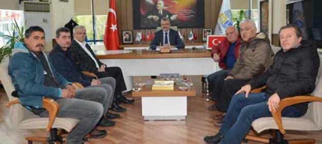 Başkan, Yeniköy esnafıyla nihayet görüştü