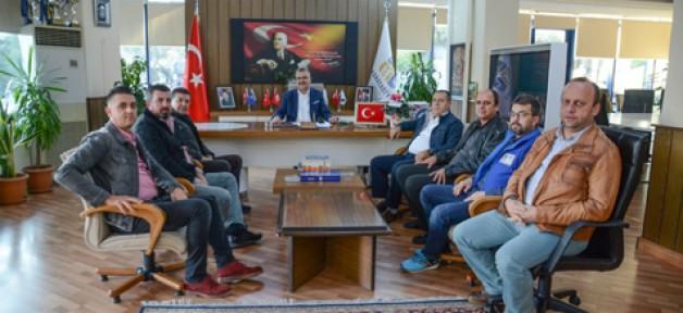 Bal-Göç'ten Başkan'a ziyaret