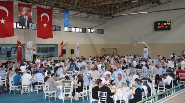 Belediye'den anlamlı iftar
