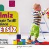 Belediye Kreşi için kayıtlar başladı