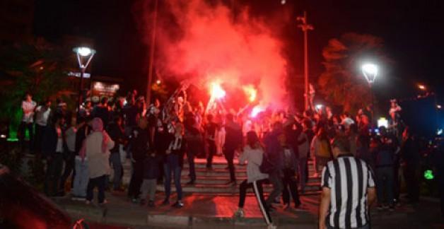 Beşiktaşlılar'dan şampiyonluk yemeği