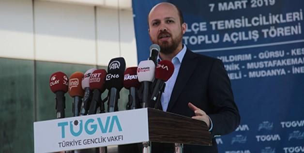 Bilal Erdoğan TÜGVA'nın toplu açılışında