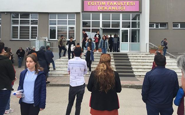 Binlerce öğrenci ter döktü