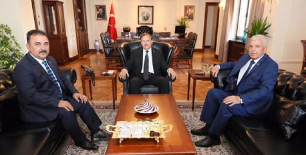 Birlikspor'dan Çavuşoğlu'na ziyaret