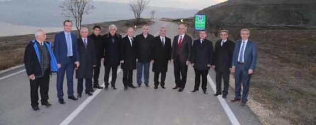 Boğazköy yoluna 6 milyonluk yatırım