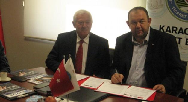 Borsa'dan Bulgar heyetle işbirliği