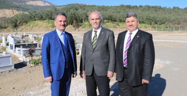 Büyükşehir'den Gemlik'e yeni mezarlık