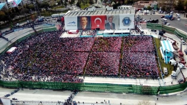 Bursa'da 384 milyonluk tarihi gün