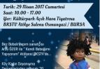 Bursa'da bez bebek atölyesi