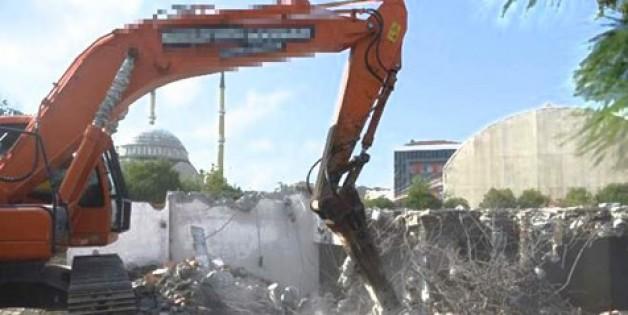 Bursa'da okul depremi