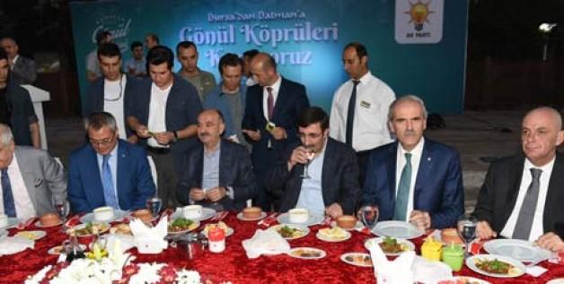 Bursa'dan Batman'a 'Gönül Köprüsü'