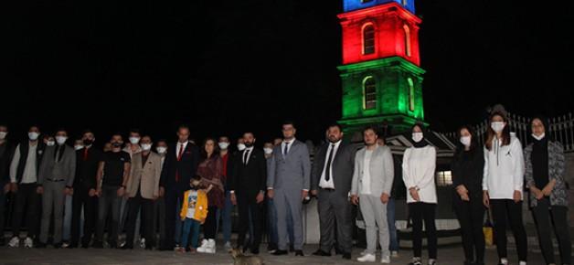 Bursa Ülkü Ocakları'ndan Azerbaycan mesajı