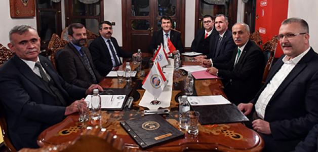 Bursa Belediyeler Birliği'nden yılın son encümen toplantısı