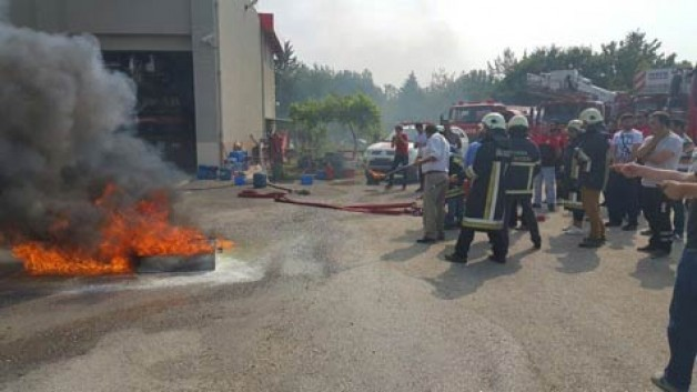 Bursa'da gönüllü itfaiyeciler