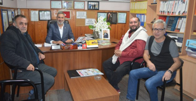 Bursalı gazetecilerden ziyaret