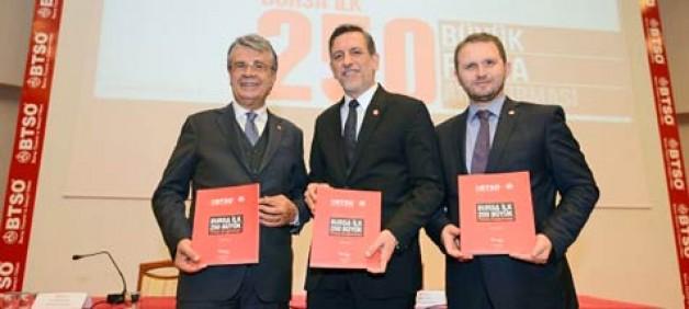 """""""Bursa ilk 250 büyük firma araştırması"""" açıklandı"""
