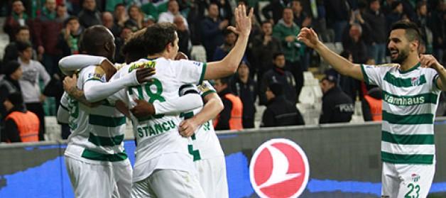 Bursaspor 84 gün sonra kazandı