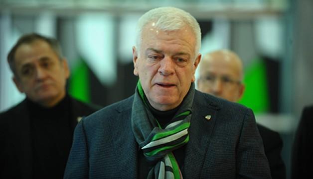 Bursaspor Kulübü'nün taşınmazları Başkan Ali Ay'a devredildi