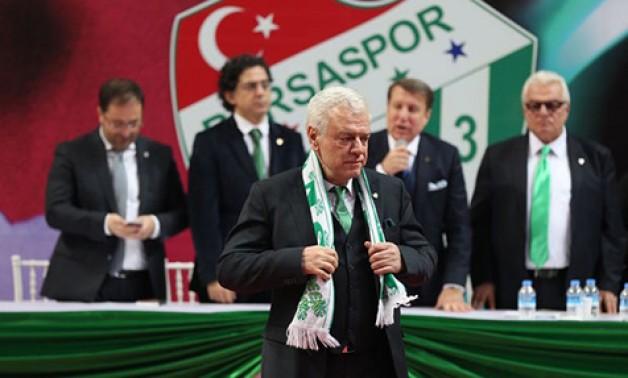 Bursaspor'un arazileri de Başkan'a devredildi