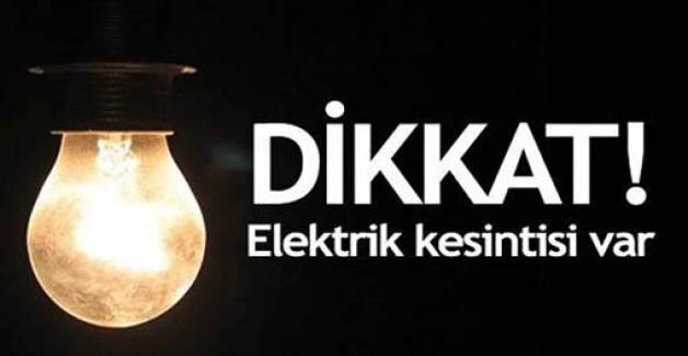Karacabey'de yarın elektrik yok!