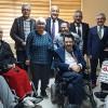 Engelli Derneği'ne anlamlı ziyaretler