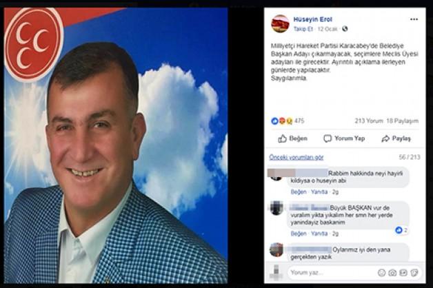 Erol'a destek, MHP'ye büyük tepki!
