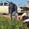 Esgin'den çiftçilere 'Geçmiş olsun' ziyareti
