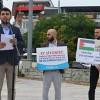Filistin'e destek, İsrail'e lanet!