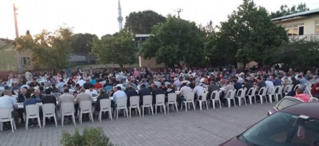 Gönü'de 500 kişilik iftar coşkusu