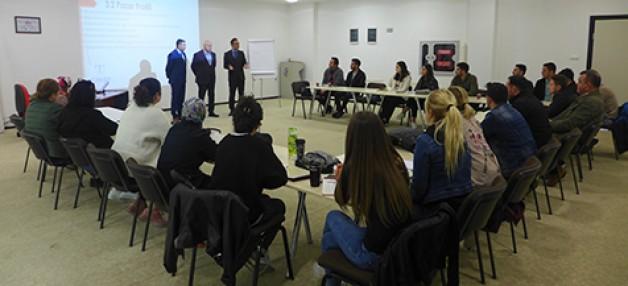 Güngör girişimci adaylarla buluştu
