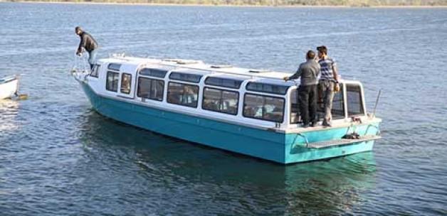 Gölyazı'da tekne turları başlıyor