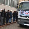 Halep'e 21. yardım tırı uğurlandı