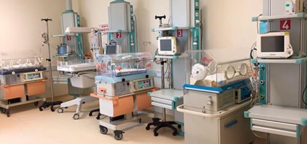 Hastaneye yenidoğan yoğun bakım ünitesi