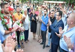 Kırkpınar'ın Fatih'ine coşkulu karşılama