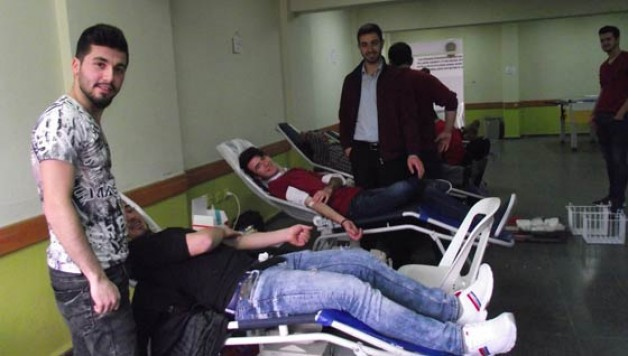 KMYO'dan Kızılay'a kan bağışı