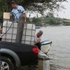 Karacabey'de 'Balıklandırma' çalışmaları