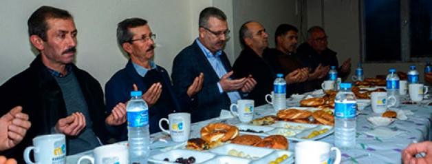 Kedikaya'da Halil İbrahim Sofrası