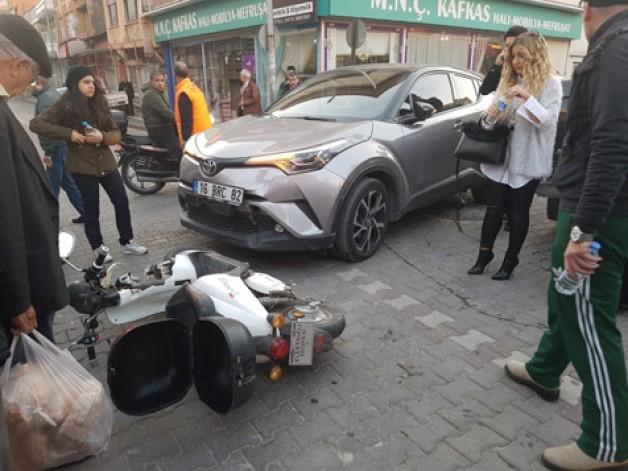 Korkutan trafik kazası