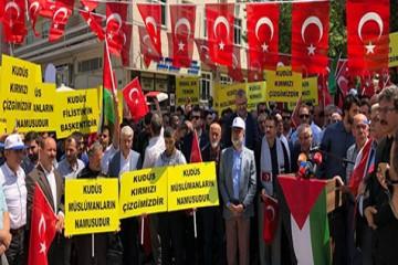 """""""Kudüs Müslümanların kırmızı çizgisidir"""""""