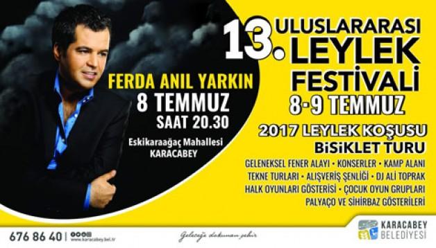 Leylek Festivali bugün başlıyor