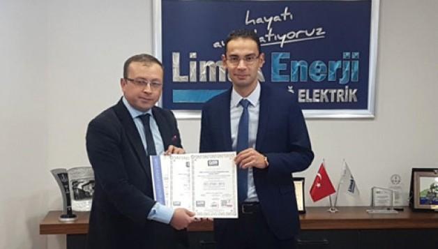 """Limak Uludağ Elektrik """"Yeni Nesil Iso 9001: 2015'i alan ilk elektrik şirketi oldu"""