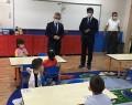 Miniklere ilk ders Milli Eğitim Müdürü'nden!